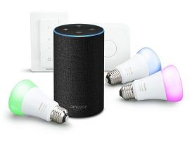 Bon plan:  le pack Amazon Echo avec 3 ampoules Philips HUE à 180€