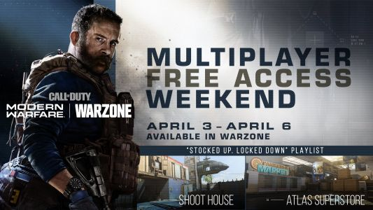 Call of Duty Modern Warfare gratuit + 2XP ce week-end avec Warzone !