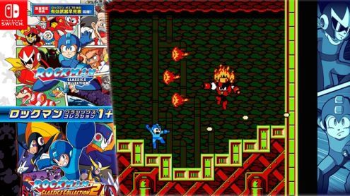 Mega Man Legacy Collection 1 & 2:  Un trailer et une jaquette japonaise