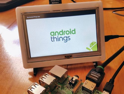 Android Things:  redirection stratégique vers les fabricants