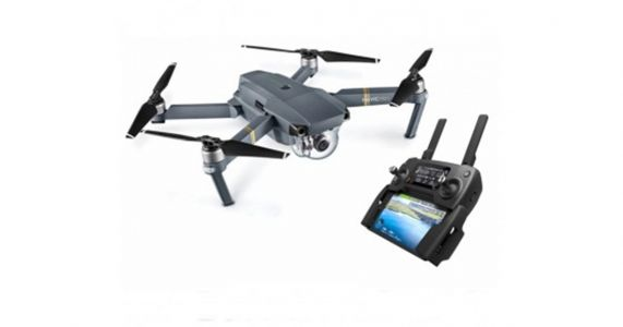 Le DJI Mavic Pro à 860,99 € ou 1119,30 € en version Fly Plus Combo