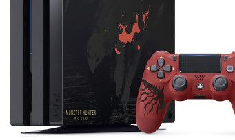 Contre toute attente, la PS4 Pro collector Monster Hunter World arrive en France, tous les détails