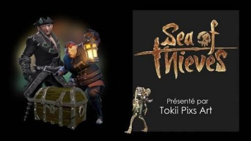 LE PIRATE SANS COEUR | SEA OF THIEVES - Post de Tokii Pix's Art
