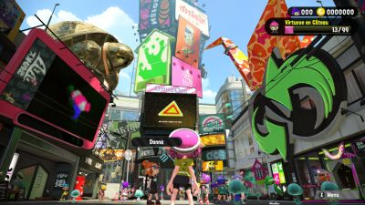 Splatoon 2 - Calmars flemmards