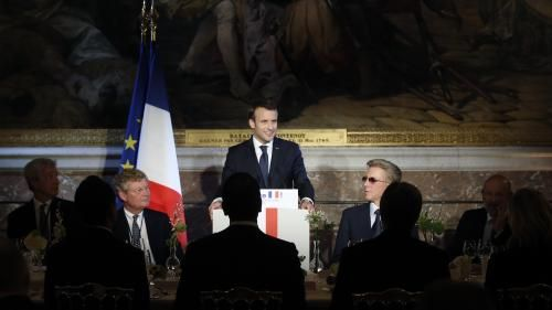 Emmanuel Macron accueille 150 grands patrons pour vanter l'attractivité de la France