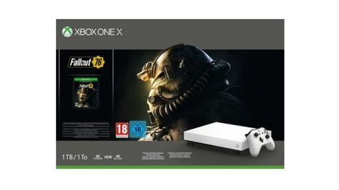BON PLAN FNAC:  Pack Xbox One X 1 To Edition Limitée Robot White + Fallout 76 à -24% - Post de Gameblog Bons Plans