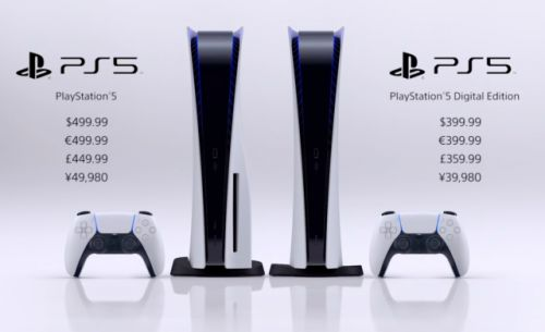 Le Playstation 5 sera disponible le 19 novembre à partir de 399 euros !