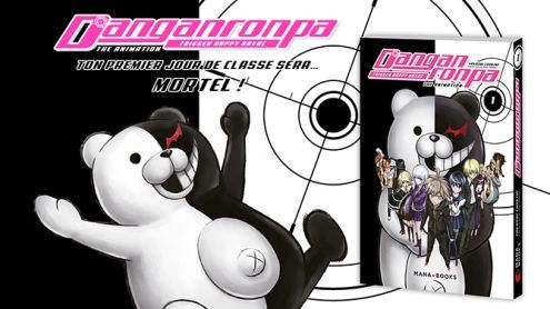 DanGan Ronpa arrive en version manga chez Mana Books