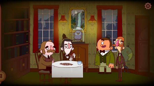 Test - Les aventures de Bertram Fiddle:  Episode 1:  Une affaire effrayantable