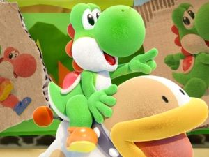 Yoshi's Crafted World:  deux vidéos de gameplay