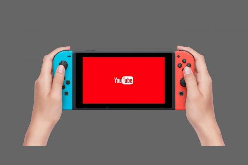 Nintendo Switch:  l'application YouTube est disponible