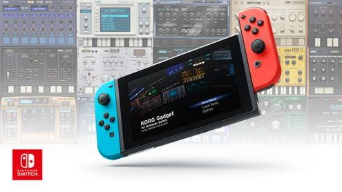 Nintendo Switch:  KORG dévoile un véritable studio musical transportable