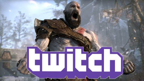 God of War:  Kratos écrase violemment la concurrence sur Twitch