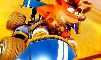Crash Team Racing:  20 min délicieuses de gameplay au cœur du mode campagne