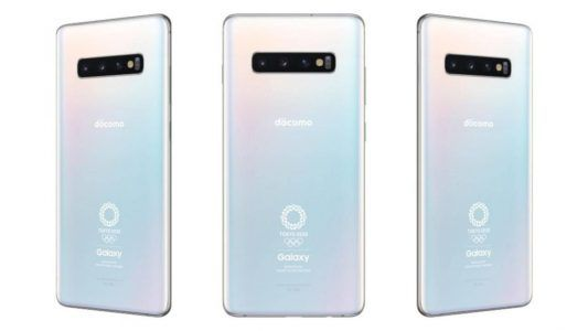 Samsung officialise le Galaxy S10+ Olympic Game Edition