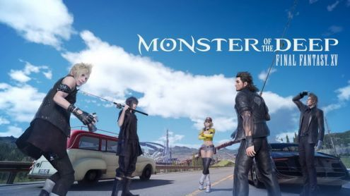 Monster of the Deep Final Fantasy XV amorce son lancement en vidéo