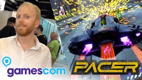 Gamescom 2019:  On a joué à Pacer, jeu de course dans le sillage de Wipeout