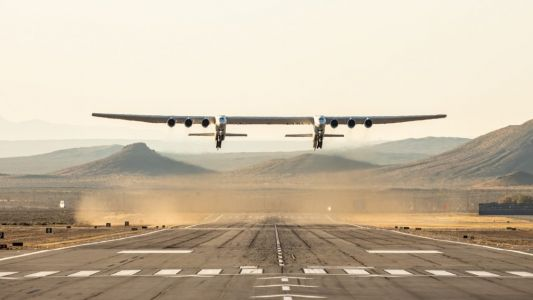Stratolaunch:  premier vol réussi pour le plus grand avion du monde
