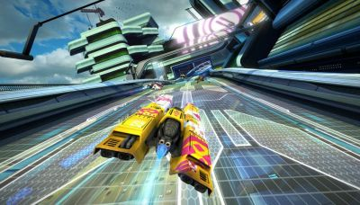 Test - WipEout Omega Collection dépasse l'amour du son