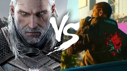 L'image du jour:  The Witcher 3 vs Cyberpunk 2077, un premier comparatif