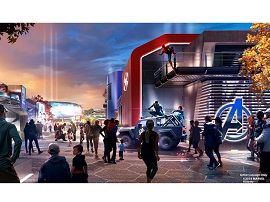 Disneyland Paris:  le nouveau Land Marvel se montre un peu