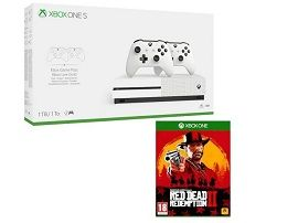 Bon plan:  Xbox One S, 1 To + 2 manettes + Red Dead Redemption 2 à 249€