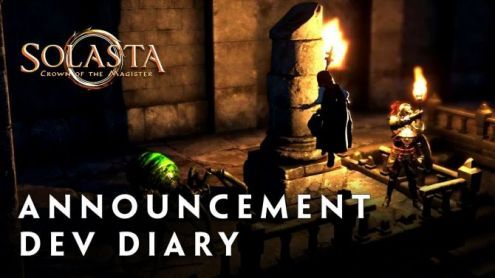 Solasta Crown of the Magister, le RPG tactique français s'annonce en vidéo