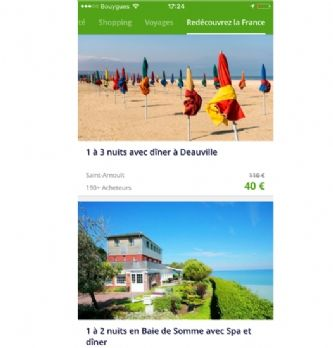 Groupon:  first sur le mobile