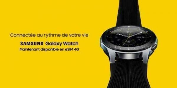 Samsung lance une version eSIM 4G de sa Galaxy Watch