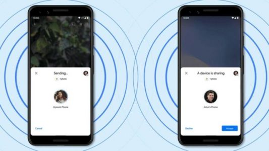 Android déploie sa version d'Apple AirDrop, Nearby Share