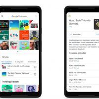 Google lance son application Podcasts sur Android