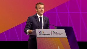 "Tech for Good, VivaTech. Macron boucle son ""tech show"" en fanfare"