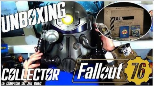 Fallout 76:  unboxing du collector qui prend de la place! - Post de StephaneLink
