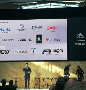 Adidas installe 13 start-up à Station F