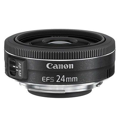 Test:  Canon EF-S 24 mm f/2,8 STM