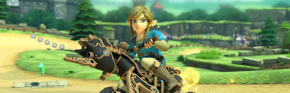 Mario Kart 8 Deluxe roule à la mode Breath of the Wild