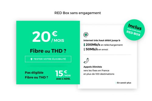 Box internet RED by SFR, Free, Bouygues:  qui choisir cette semaine ?