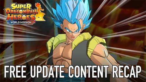 Super Dragon Ball Heroes World Mission:  Le contenu Dragon Ball Super Broly gratuit est là