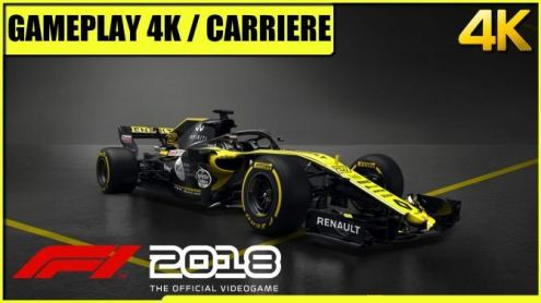 F1 2018:  Gameplay 4K sur Xbox One X - Post de Asajapan