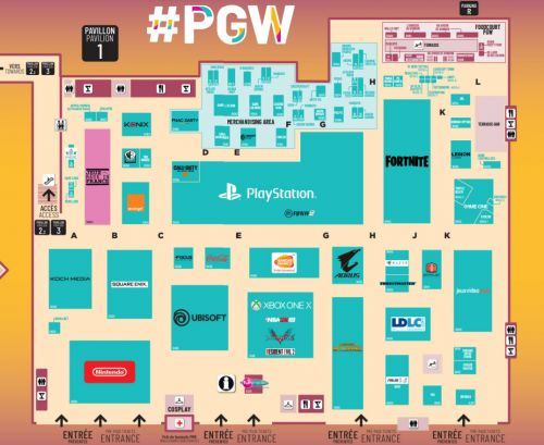 Paris Games Week 2018:  les plans du salon dévoilés