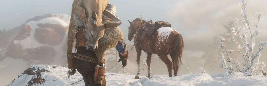 Red Dead Redemption 2 va au contact de la faune