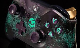 Sea of Thieves:  une manette Xbox One collector aux couleurs du jeu arrive, voici les photos
