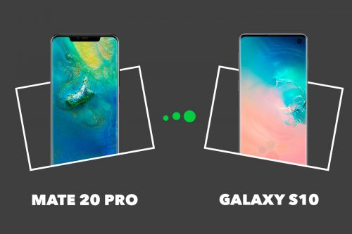 Samsung Galaxy S10 vs Huawei Mate 20 Pro:  quelles différences ?