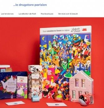 "Le "". drugstore parisien"" lance son site e-commerce"