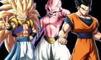 Dragon Ball FighterZ:  premières images officielles de Gotenks, Gohan adulte et Kid Buu