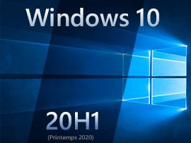Windows 10 20H1:  Microsoft s'attaque au développement de la version 2020