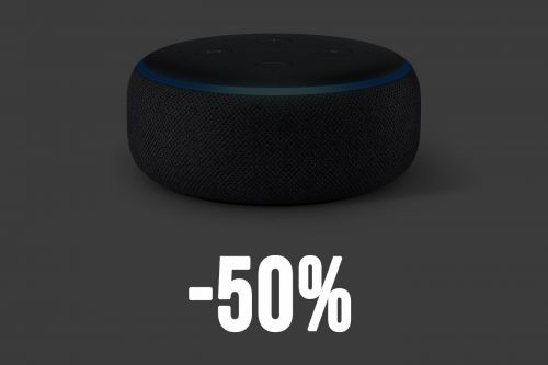 🔥 Bon plan:  Echo Dot en promotion à -50% chez Amazon