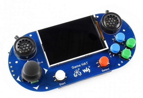 GameHat:  Un kit pour transformer une Raspberry Pi en console portable