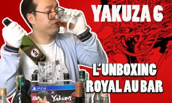 Yakuza 6:  on unboxe le collector et on teste les verres à whisky !