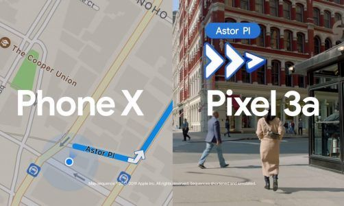 Google Maps vs Plans:  quand Google tacle l'iPhone XS avec son Pixel 3a dans une pub